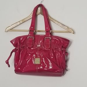 Dooney & Bourke | Bright Pink Purse with Buckles
